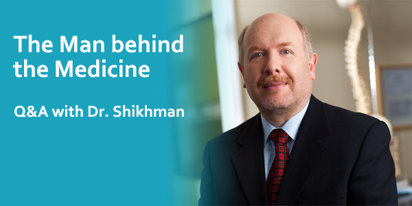 The Man behind the Medicine